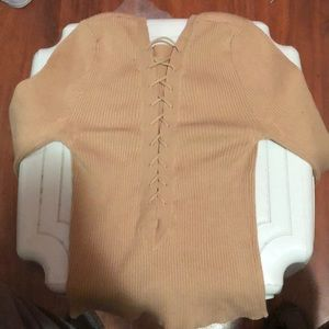 Forever 21 Tops - A long sleeve shirt with cleavage